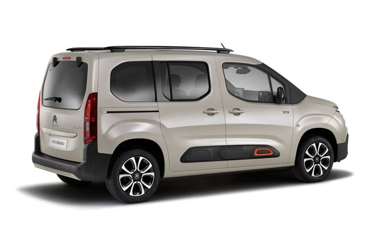 Citroen Berlingo XL MPV 1.5 BlueHDi 130PS Feel 5Dr EAT8 [Start Stop] back view