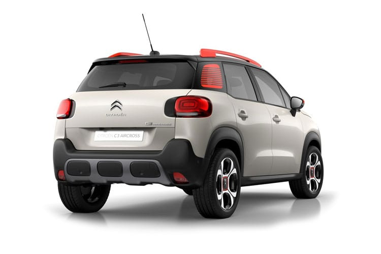 Citroen C3 Aircross SUV 1.2 PureTech 110PS Shine 5Dr Manual [Start Stop] back view