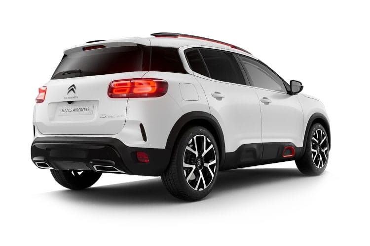 Citroen C5 Aircross SUV 1.6 PHEV 13.2kWh 225PS Flair 5Dr e-EAT8 [Start Stop] back view