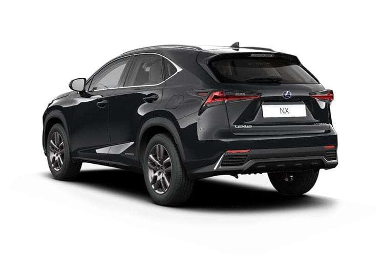 Lexus NX 300h SUV 4wd 2.5 h 197PS NX 5Dr E-CVT [Start Stop] back view