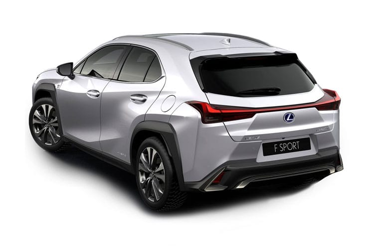 Lexus UX 250h SUV 2.0 h 184PS UX 5Dr E-CVT [Start Stop] [Prem] back view