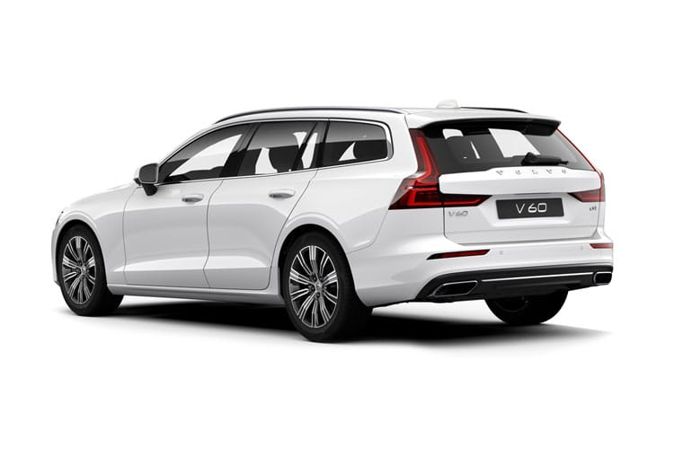 Volvo V60 Estate 2.0 B5 MHEV 250PS Inscription 5Dr Auto [Start Stop] back view