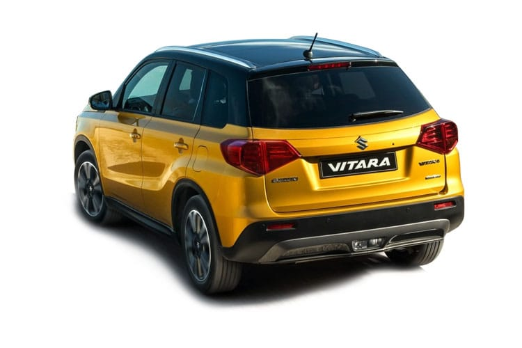 Suzuki Vitara SUV ALLGRIP 1.4 Boosterjet MHEV 129PS SZ5 5Dr Auto [Start Stop] back view