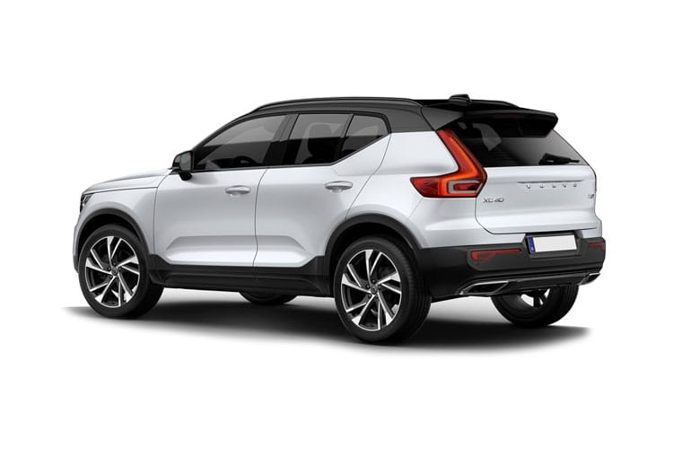 Volvo XC40 SUV AWD Electric P8 78kWh 300KW 408PS First Edition 5Dr Auto back view