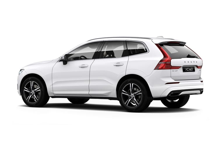 Volvo XC60 SUV 2.0 B5 MHEV 250PS R DESIGN Pro 5Dr Auto [Start Stop] back view