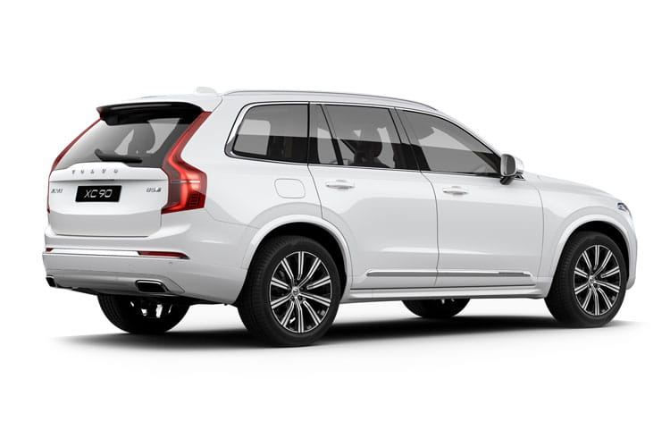 Volvo XC90 SUV 2.0 B6 MHEV 300PS R DESIGN 5Dr Auto [Start Stop] back view