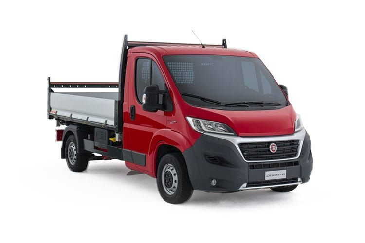 Fiat Ducato 35 Maxi LWB 2.3 MultijetII FWD 160PS 1-Way Tipper Double Cab Manual [Start Stop] front view