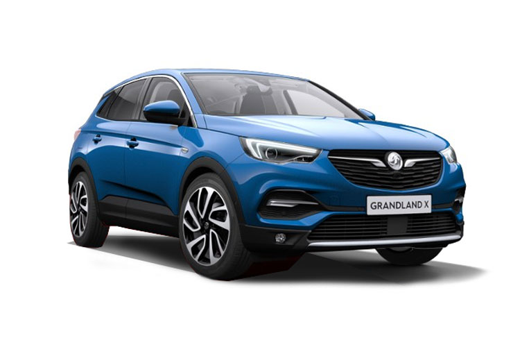 Vauxhall Grandland X SUV 1.2 Turbo 130PS SRi Nav 5Dr Manual [Start Stop] front view