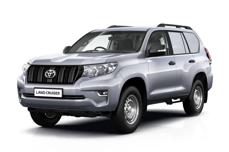 Toyota LandCruiser LCV SWB 4wd 2.8 D 4WD 177PS Active Van Auto [2Seat Navi] front view