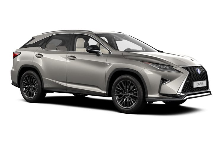 Lexus RX 450h SUV 4wd 3.5 h V6 313PS F-Sport 5Dr E-CVT [Start Stop] front view