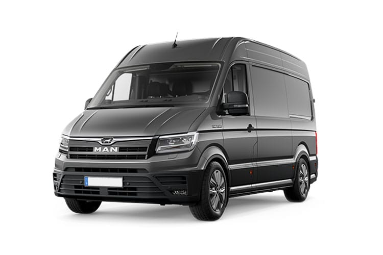 MAN TGE 3.140 3.5t Extra Long FWD 2.0 d FWD 140PS  Van Extra High Roof Auto [Start Stop] front view