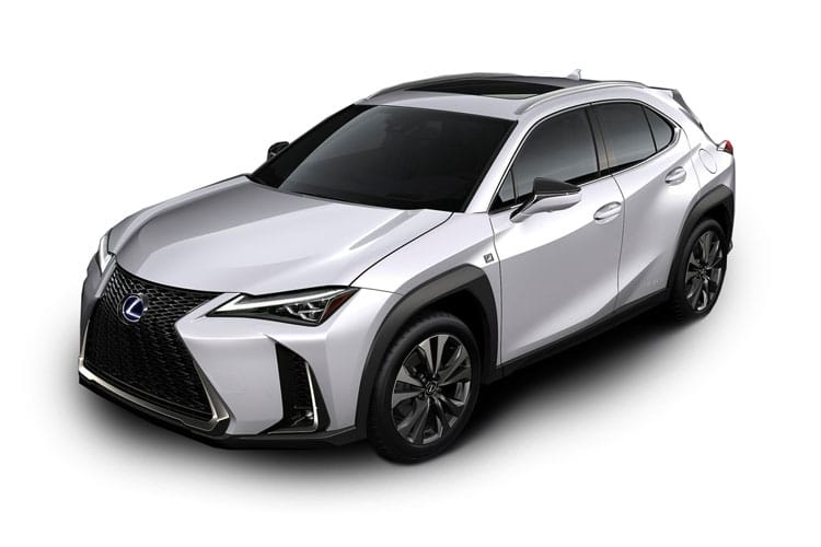Lexus UX 250h SUV 4wd 2.0 h 184PS UX 5Dr E-CVT [Start Stop] [Prem Plus SRoof] front view