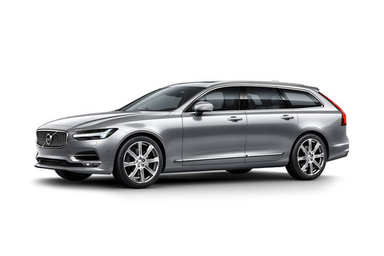Volvo V90 Estate AWD 2.0 B6 MHEV 300PS R DESIGN 5Dr Auto [Start Stop] front view