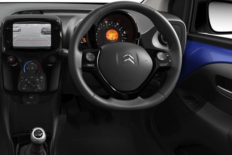 Citroen C1 Airscape 5Dr 1.0 VTi 72PS Urban Ride 5Dr Manual [Start Stop] inside view