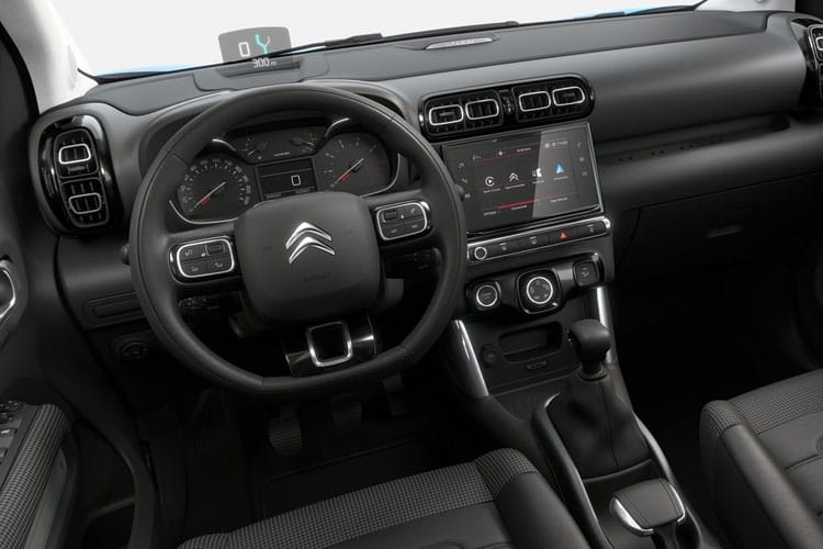 Citroen C3 Aircross SUV 1.2 PureTech 110PS Shine 5Dr Manual [Start Stop] inside view