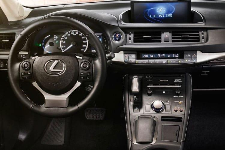 Lexus CT 200h Hatch 5Dr 1.8 h 136PS CT 5Dr E-CVT [Start Stop] inside view