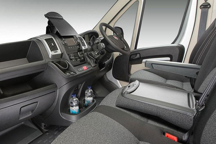 Fiat Ducato e-Ducato 35 XLB LWB Elec 47kWh 90KW FWD 122PS  Van High Roof Auto [7kW&50kW Rapid Charger] inside view