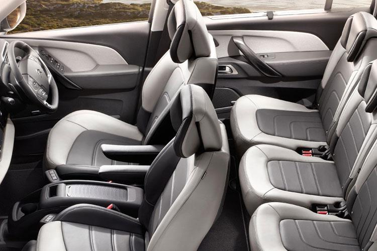Citroen C4 SpaceTourer Grand C4 SpaceTourer MPV 1.2 PureTech 130PS Flair Plus 5Dr EAT8 [Start Stop] inside view