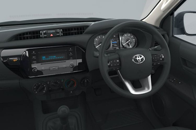 Toyota Hilux PickUp Double Cab 4wd 2.8 D-4D 4WD 204PS Invincible X Pickup Double Cab Auto [Start Stop] inside view