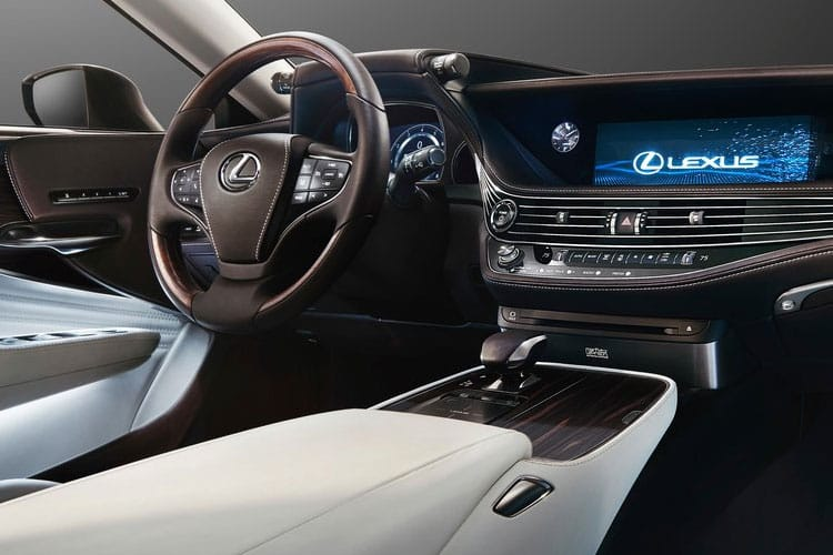 Lexus LS 500 Saloon 3.5 h V6 359PS LS 4Dr E-CVT [Start Stop] inside view