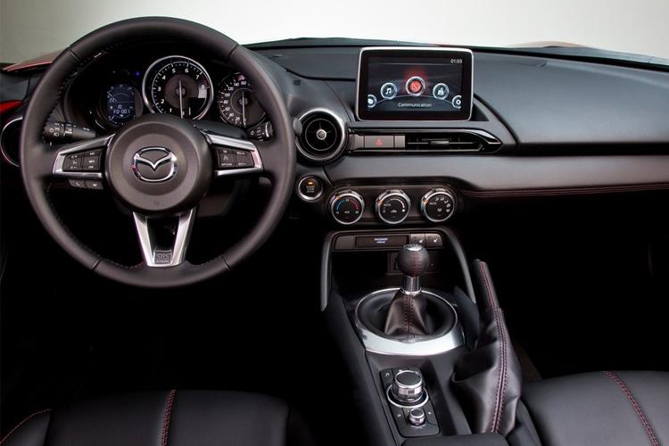 Mazda MX-5 Convertible 2.0 SKYACTIV-G 184PS 100th Anniversary Edition 2Dr Manual [Start Stop] inside view