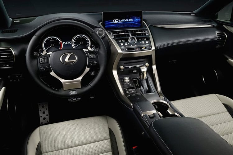 Lexus NX 300h SUV 4wd 2.5 h 197PS NX 5Dr E-CVT [Start Stop] [Premium Sport Edition] inside view