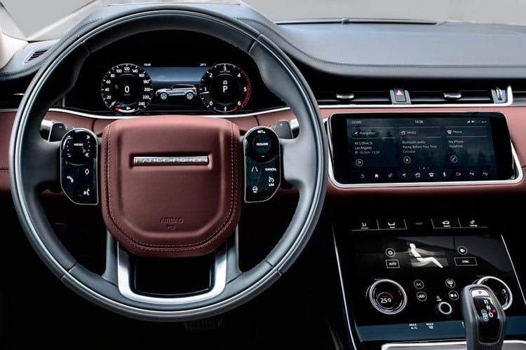 Land Rover Range Rover Evoque SUV 5Dr 2.0 P MHEV 249PS  5Dr Auto [Start Stop] inside view