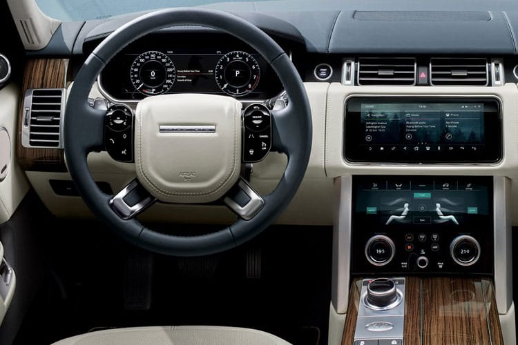 Land Rover Range Rover SUV 2.0 P400e PHEV 13.1kWh 404PS Westminster 5Dr Auto [Start Stop] inside view