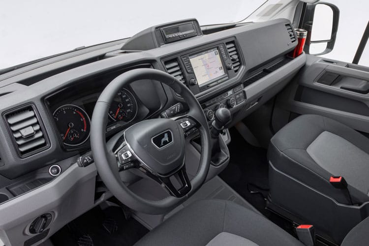 MAN TGE 3.140 3.5t Extra Long FWD 2.0 d FWD 140PS  Van Extra High Roof Auto [Start Stop] inside view