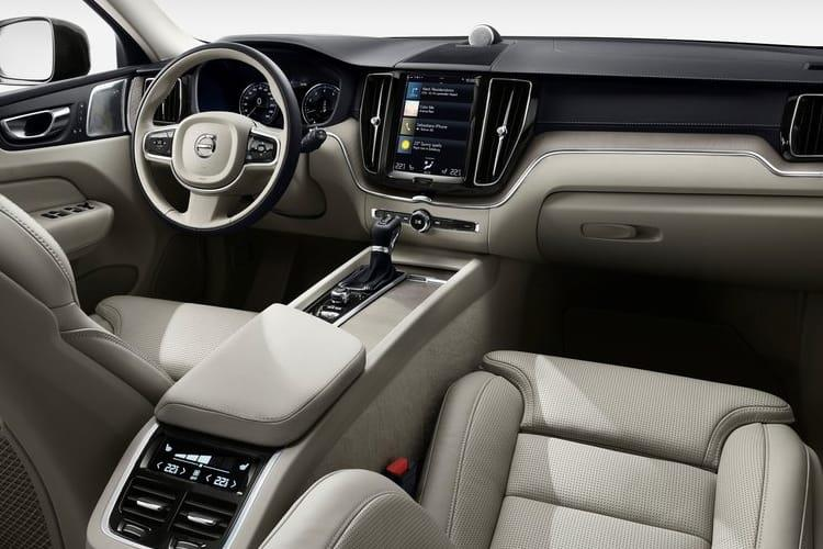 Volvo XC60 SUV 2.0 B5 MHEV 250PS R DESIGN Pro 5Dr Auto [Start Stop] inside view
